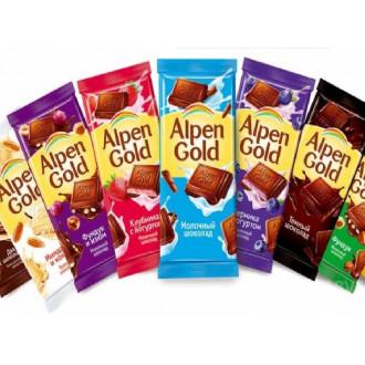 Шоколад Alpen Gold 85 г по самой низкой цене