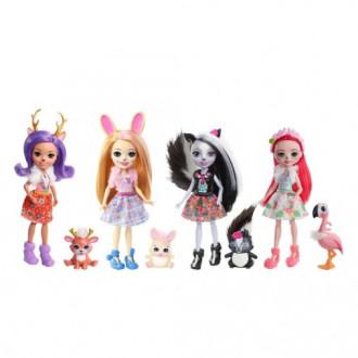 Набор из 4-х кукол Enchantimals