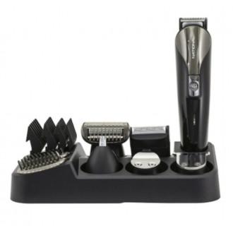 Набор для стрижки и бритья NATIONAL с 6 насадками и аксессуарами, на подставке