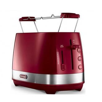 Стильный и функциаональный тостер DELONGHI CTLA2103.R