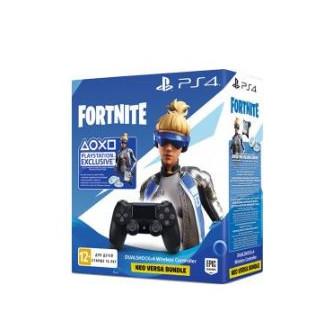 Геймпад PlayStation Dualshock v2 Black + Fortnite по сниженой цене