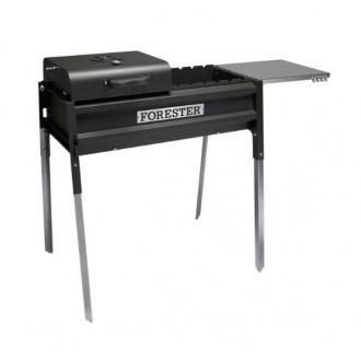 Классный термо-гриль Forester с крышкой и столом по самой низкой цене
