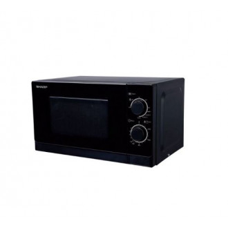 Микроволновая печь Sharp R-2000RK чёрная