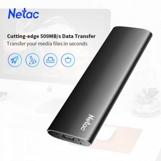 Компактный внешний SSD Netac 250 Gb M.2