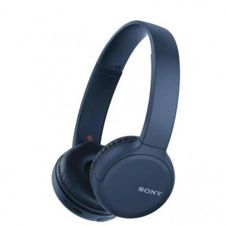 Беспроводные наушники Sony WH-CH510 синие по выгодной цене