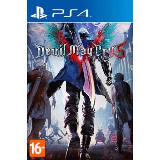 Игра Devil May Cry 5 для PS4 с хорошей скидкой
