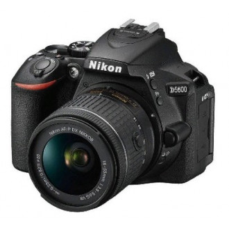 Зеркальный фотоаппарат NIKON D5600 kit ( 18-55 VR AF-P f/3.5-5.6G)