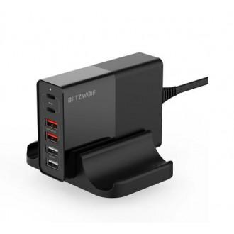 Зарядная станция BlitzWolf BW-S16 75Вт на 6 USB портов