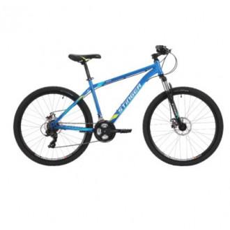 Горный (MTB) велосипед Stinger Aragon 27.5 (2018) синий 16