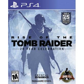 Игра Rise of the Tomb Raider: 20 Year Celebration для PS4 бесплатно подписчикам PS Plus
