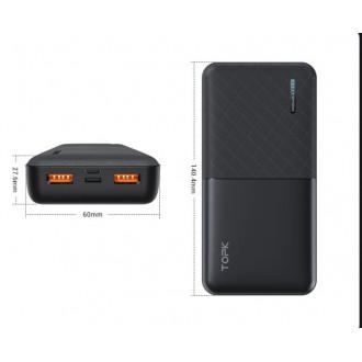 Портативное зарядное устройство TOPK 20000