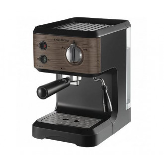 Стильная кофеварка Polaris PCM 1524E Wood