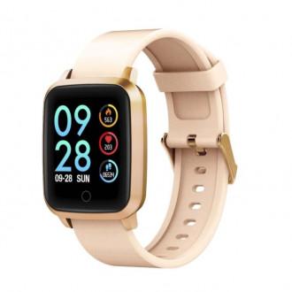 Многофункциональные смарт-часы Digma Smartline S11m Gold