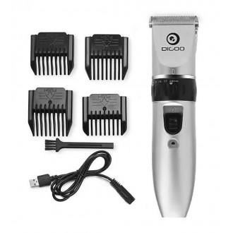 Аккумуляторная машинка для стрижки волос Digoo BB-T1