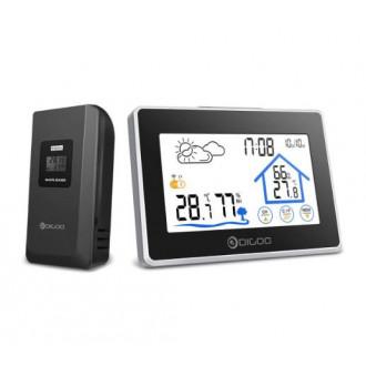 Домашняя метеостанция + 1 внешний датчик Digoo DG-TH8380₽