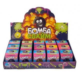 Крутой большой набор бомбо-слаймов с фруктовым запахом