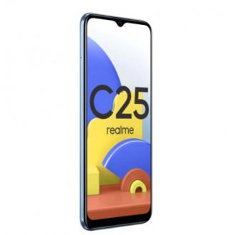 Смартфон realme C25 по отличной цене с NFC и быстрой зарядкой