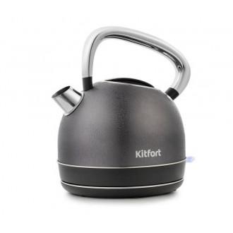Хорошая скидка на электрический чайник KITFORT КТ-696-4 в трёх расцветках