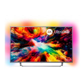LED Телевизор 4K Ultra HD Philips 50PUS7303 с Ambilight