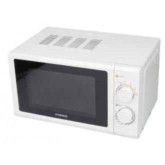 Компактная мкроволновая печь Starwind SMW3217 в классическом белом цвете