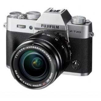Цифровой фотоаппарат в стиле ретро Fujifilm X-T20 KIT 18-55 Silver