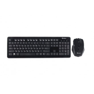 Неплохой комплект клавиатура + мышь Intro DW910B Wireless