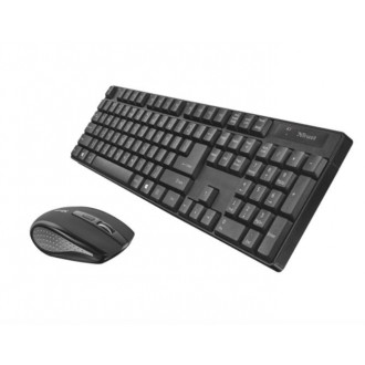 Комплект клавиатура+мышь Trust Ximo Wireless Keyboard & Mouse (22130)