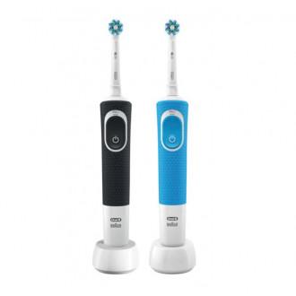 2 отличные электрические зубные щётки Braun ORAL-B Vitality D100.413.1 CrossAction 1+1