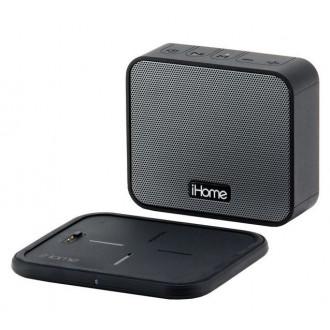 Беспроводная акустика iHome iBTW88 Black с докстанцией