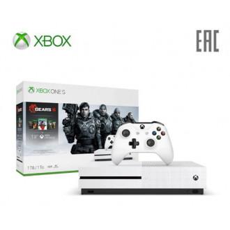 Игровая консоль Xbox One S 1Tb с играми серии Gears of War