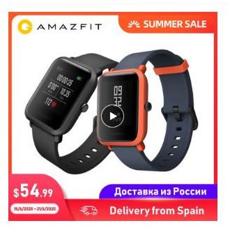 Смарт-часы Amazfit Bip с доставкой из России