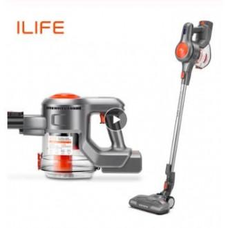 Вертикальный пылесос ILIFE H70 и робот - пылесос ILIFE A6
