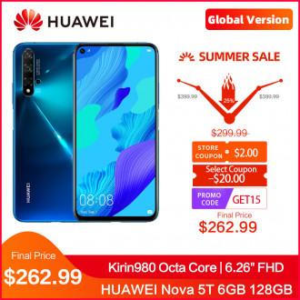 Смартфон Huawei Nova 5T 6/128Gb по крутой цене