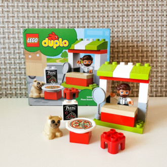 Конструктор LEGO DUPLO Town 10927 Киоск-пиццерия за 1₽