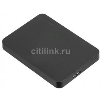 Внешний жесткий диск TOSHIBA Canvio Basics HDTB405MK3AA, 500Гб