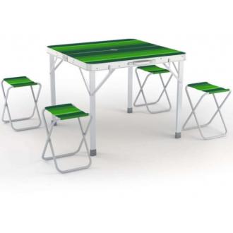 Комплект для пикника Zagorod В103, стол-чемодан и 4стула