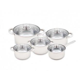 Классный бюджетный набор посуды из 10 предметов