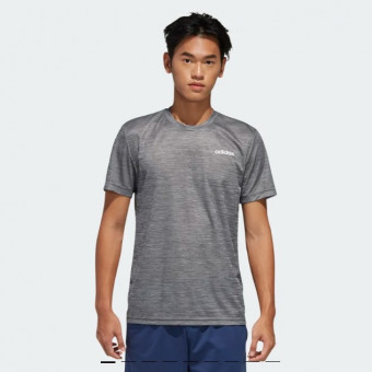 Классная футболка для фитнеса DESIGNED 2 MOVE HEATHER