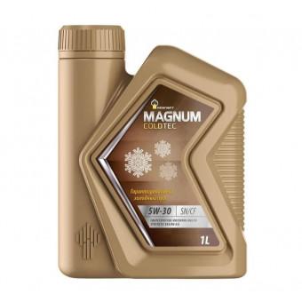 Моторное масло Роснефть Magnum Coldtec 5W-30 1 л по супер цене