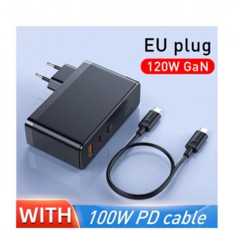 Зарядное устройство Baseus GaN 120 Вт по отличной цене
