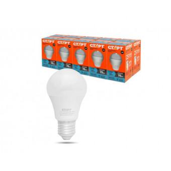 Упаковка ламп LED СТАРТ E27, груша 10Вт, LEDGLSE27, 10шт. по крутой цене
