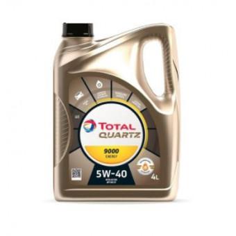 Масло моторное TOTAL QUARTZ 9000 ENERGY 5W40 4L по крутой цене