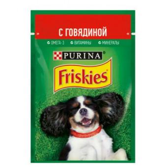 Влажный корм Friskies для собак по самой выгодной цене