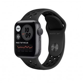 Apple Watch Series 6 GPS 40мм Aluminum Case с браслетом Nike Sport Band по лучшей цене