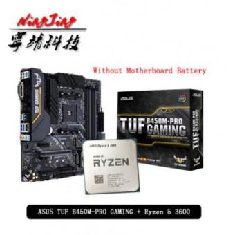 Процессор AMD Ryzen 5 3600 R5 3600 + игровая Материнская плата Asus TUF B450M PRO по отличной цене