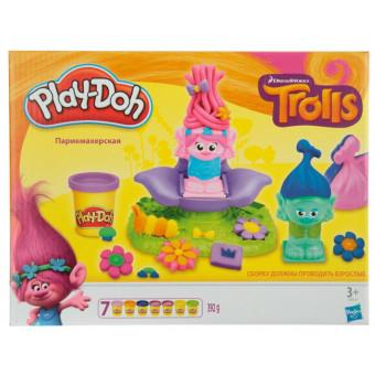 Набор для лепки из пластилина Play-Doh Тролли по самой низкой цене