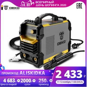 На распродаже 11.11 сварочный аппарат DEKO DKWM220A по суперцене