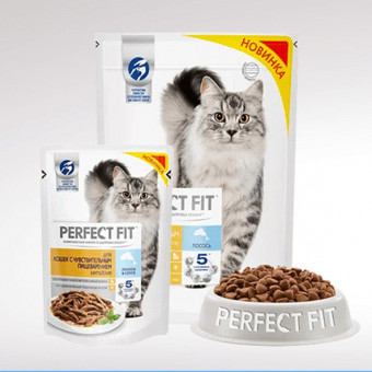 Повышенный кешбэк до 33% на корма для животных от Perfect Fit