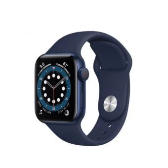 Умные часы Apple Watch Series 6 GPS 40мм Aluminum Case with Sport Band, синий/темный ультрамарин по классной цене