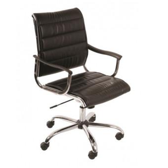 Чёрное кресло руководителя Бюрократ CH-994AXSN со скидкой
